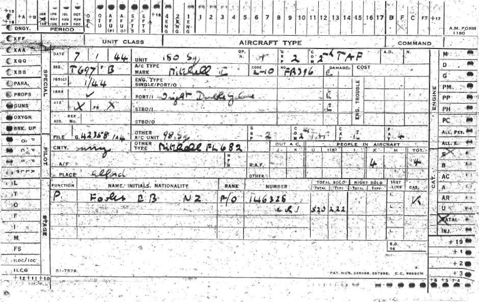 C:\Users\Frank\Pictures\z011 Dunsfold Airfield and crashes and incidents thereon\Pallinghurst House\Aircraft Accident Card FR396 Fooks 180 Sdn. 01.JPG